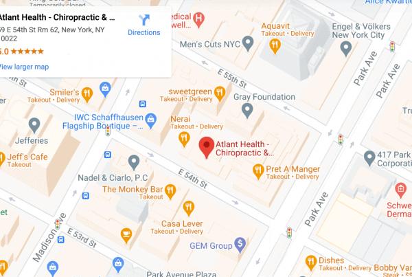 Chiropractor Functional Medicine New York City