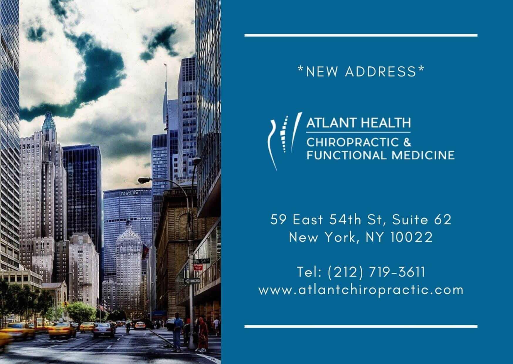 Chiropractor NYC 10022
